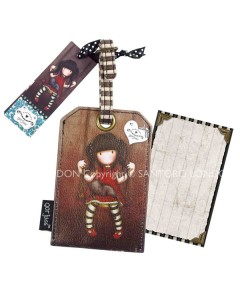 343GJ01 - Luggage Tag - Ruby - Back WM