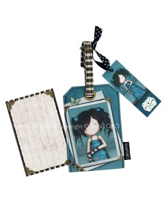 343GJ03 - Luggage Tag - Lost for Words - Back WM