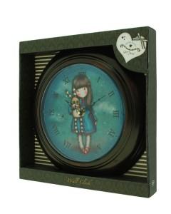 80.21.012 ΡΟΛΟΙ GORJUSS 270GJ08 - Wall Clock - Hush Little Bunny