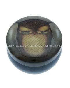 242EC04 - Trinket Tins - Grumpy Owl - Top WM