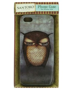 349EC03 - iPhone 5 Case - Grumpy Owl - Boxed  - web