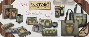 SANTORO GRUMPY OWL