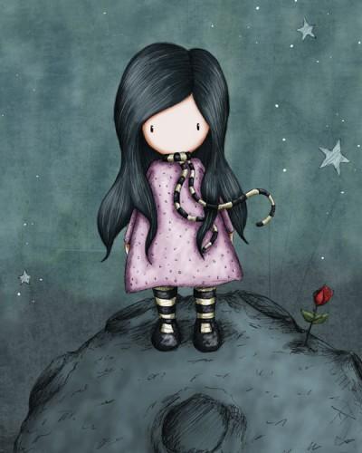 ES132 Because She Is My Rose (Gorjuss) – HR