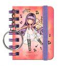1047GJ06-Gorjuss-Melodies-Keyring-Notebooks-LD-4-WR